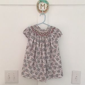 Luli & Me Floral Smocked Dress
